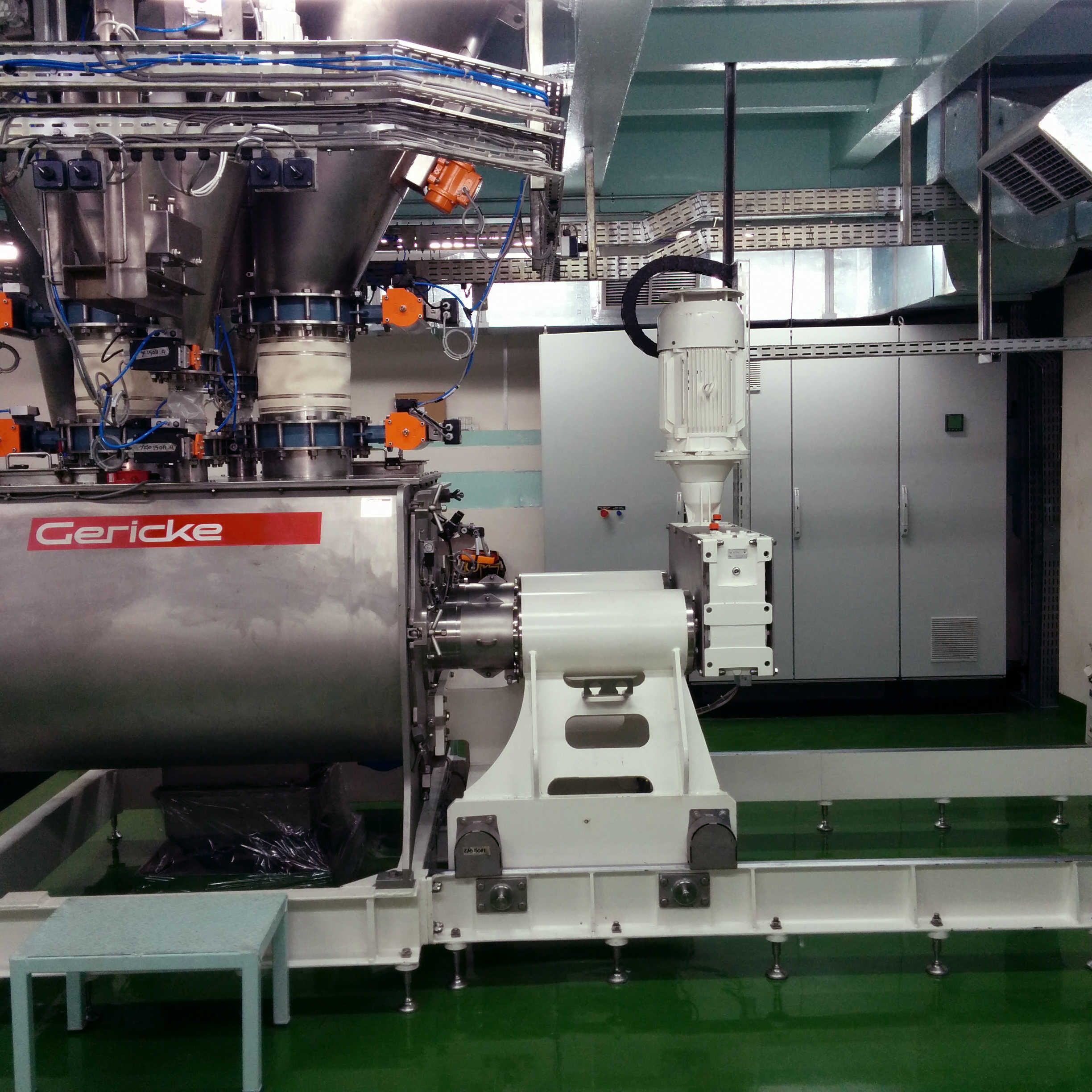GMS double shaft mixer