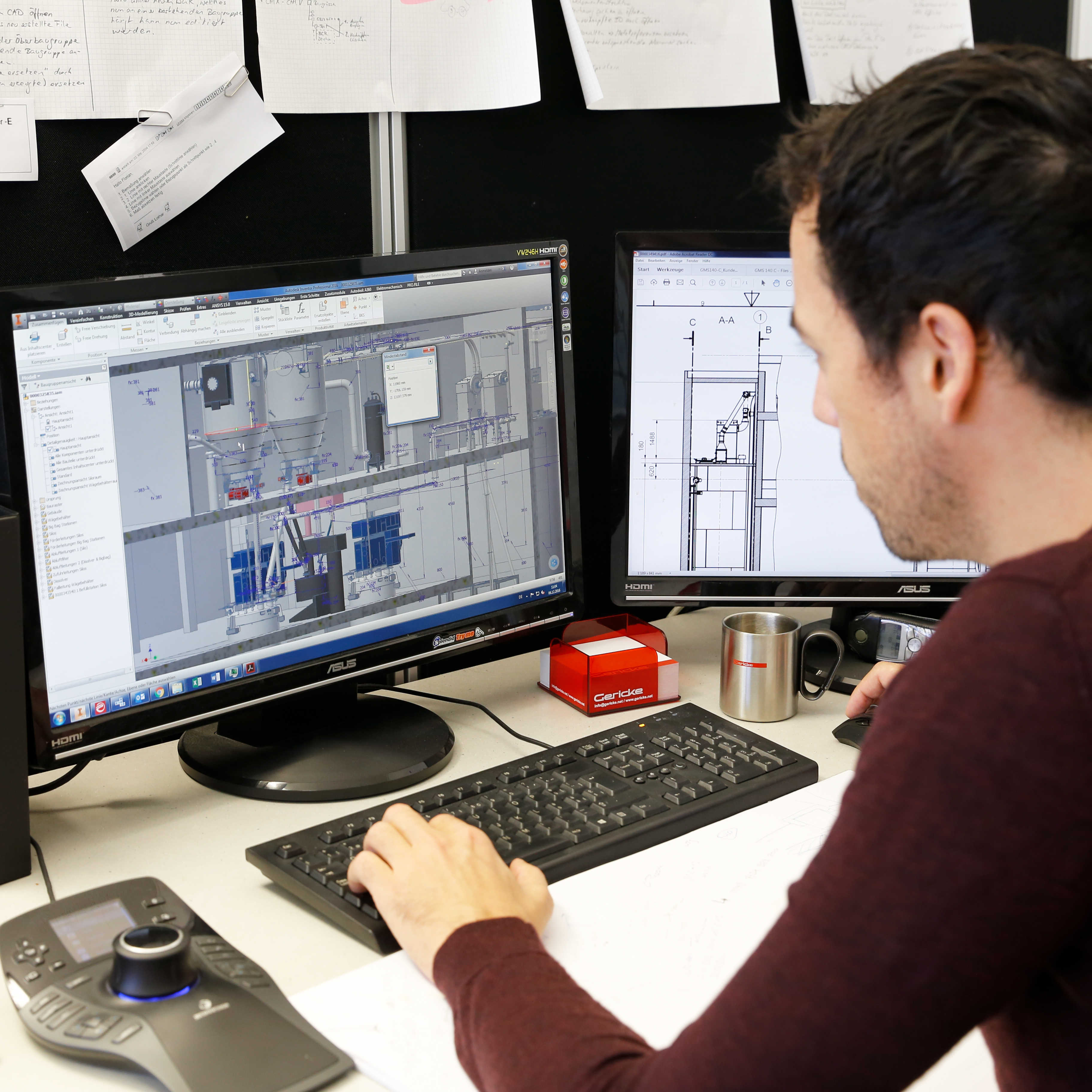 System engineering using 3D CAD