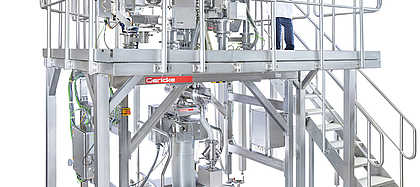 Gericke Formulation Skid GFS for Continuous Manufacturing.